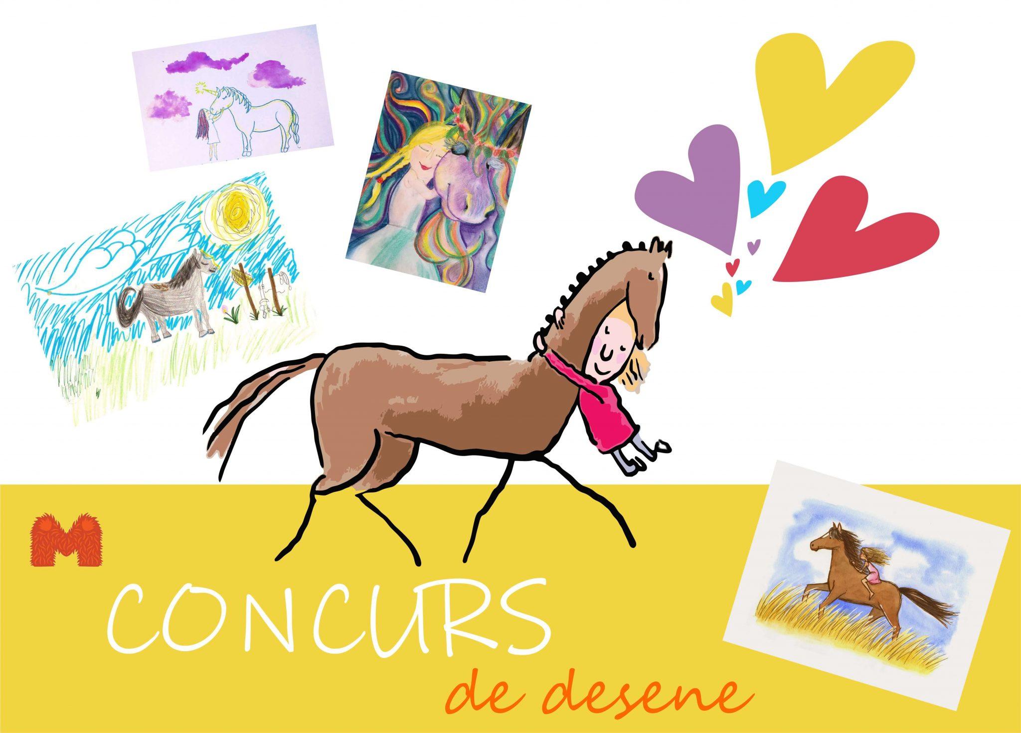 Afis Concurs desene copii